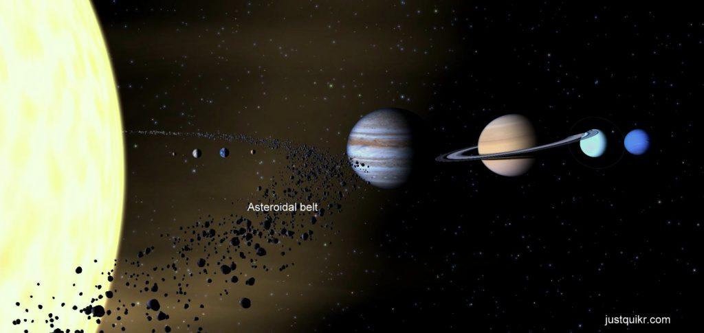 Asteroidal belt