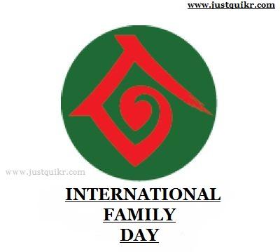 International Family Day J U S T Q U I K R C O M