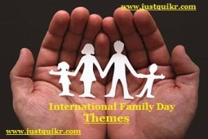 International Family Day Theme
