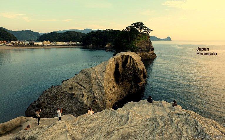 Japan peninsula