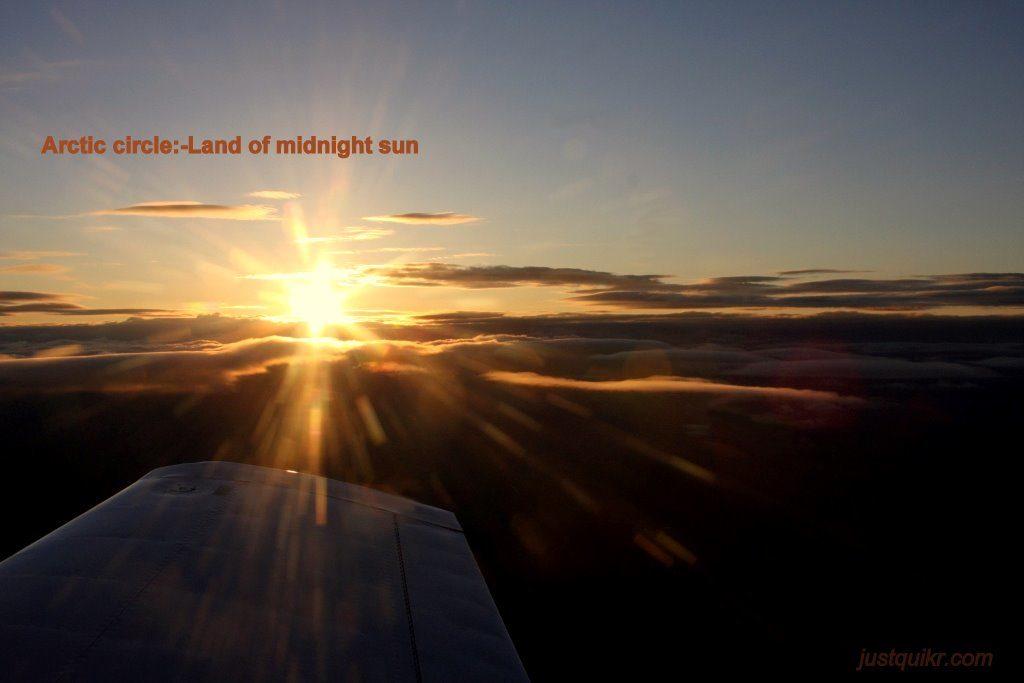 Land of midnight sun