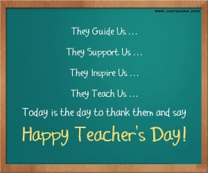 Teachers day speech in English for school and college students