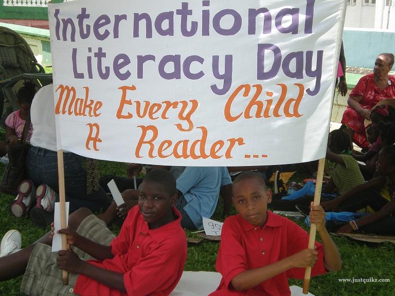 World/International Literacy Day Theme