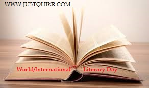 World/International Literacy Day History, Theme, Quotes, Poster
