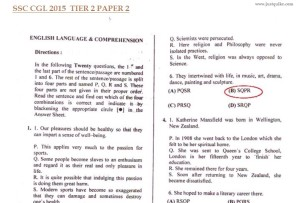 ssc cgl 2015 Tier 2 question paper answer key analysis expected cutoff