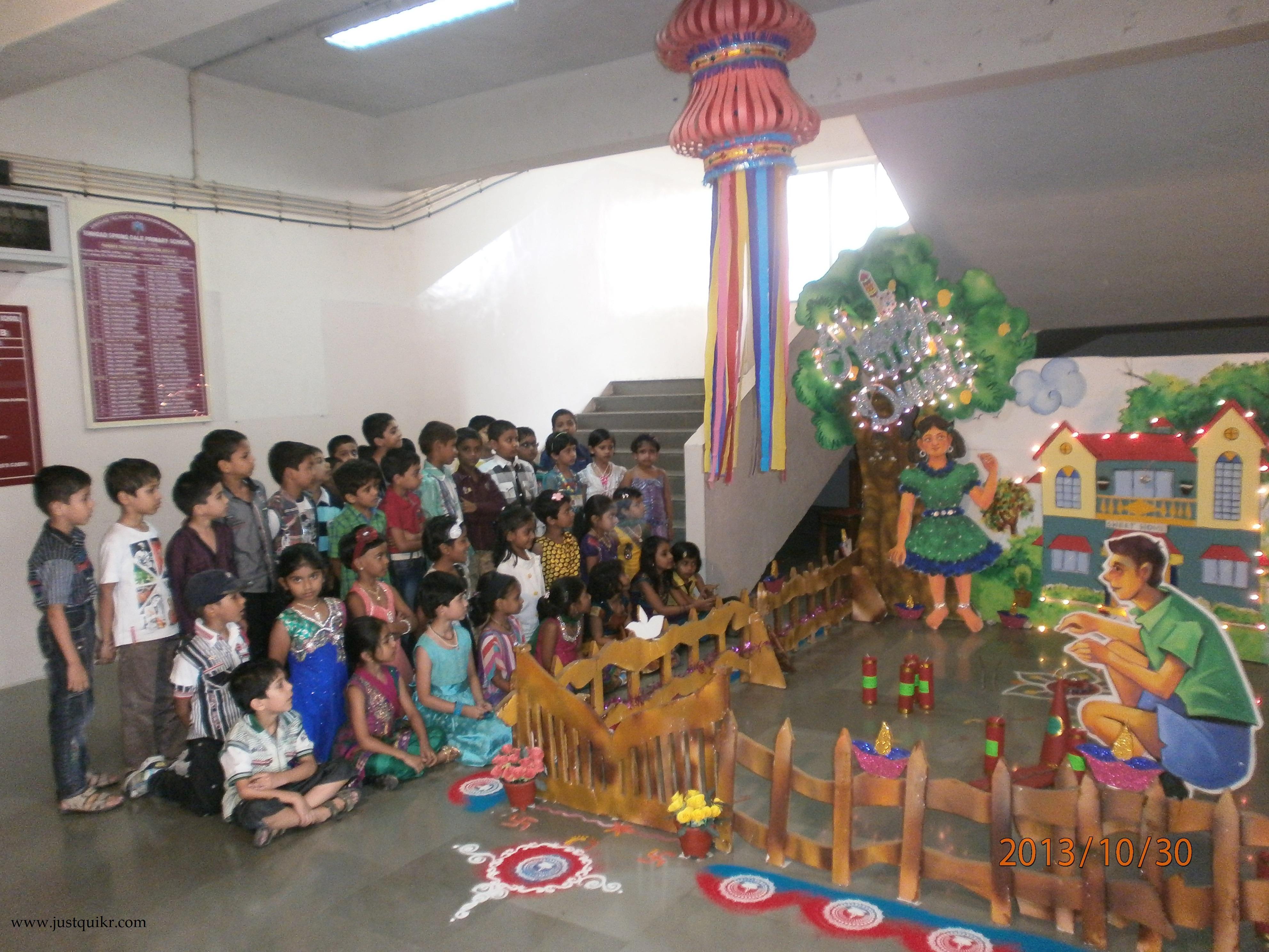 Diwali Decoration Ideas for school images