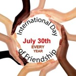 International happy friendship day/International day of friendship