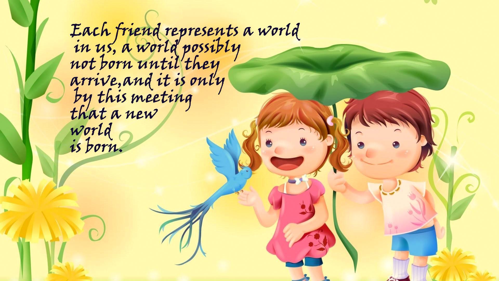 Friendship Day Quotes In English 4 J U S T Q U I K R C O M