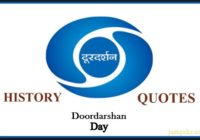 Doordarshan Day History Quotes