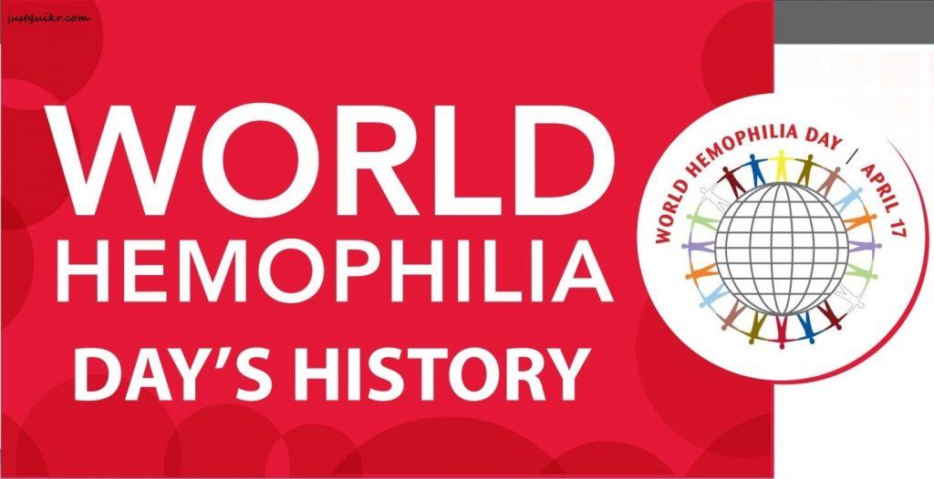 WORLD HEMOPHILIA DAY HISTORY