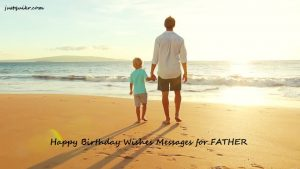 Happy Birthday Wishes Messages for FATHER