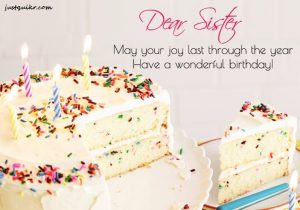 Happy Birthday Wishes Messages for Sister