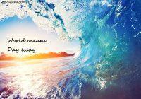 World oceans Day essay