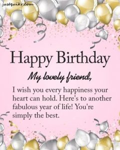 Happy Birthday Shayari Greetings Sayings SMS and Images for Best Friend