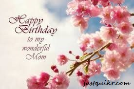 Happy Birthday Wishes Messages for MOM