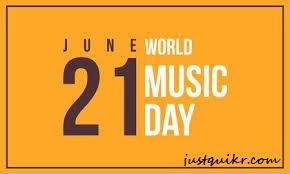 World Music Day Speech