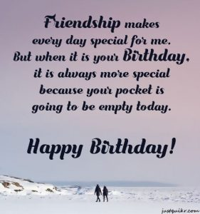 Creative Happy Birthday Wishes Thoughts Quotes Lines Messages in English For Childhood Friend