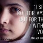 Malala Day Themes and Thoughts