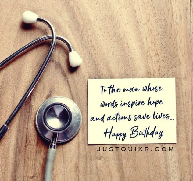 Happy Birthday Special Unique Wishes Messages for Doctor