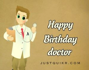 Happy Birthday Shayari Greetings Sayings SMS and Images for Doctor