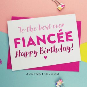Happy Birthday Special Unique Wishes Messages for Fiance