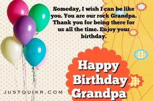 Happy Birthday Special Unique Wishes Messages for GRANDFATHER