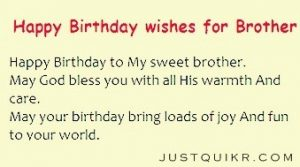 Happy Birthday Shayari Greetings Sayings SMS and Images for Big Brother
