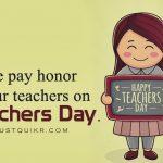 Teachers Day Slogan