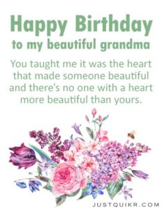 Happy Birthday Special Unique Wishes Messages for GRANDMOTHER