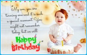 Happy Birthday Special Unique Wishes Messages for CHILD