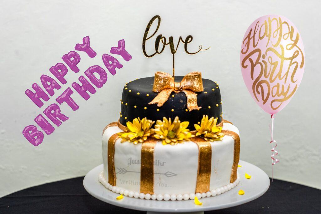 CreativeHappy Birthday Wishing Cake Status Images for Boyfriend