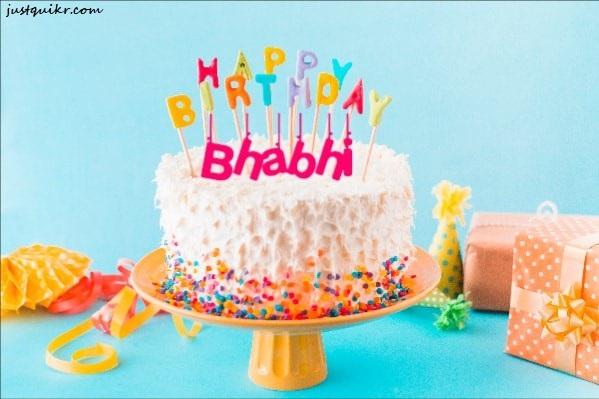 Happy Birthday Greetings Sayings SMS Status for Beautiful Bhabhi