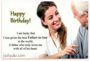 Happy Birthday Special Unique Wishes and Messages for Father in Law