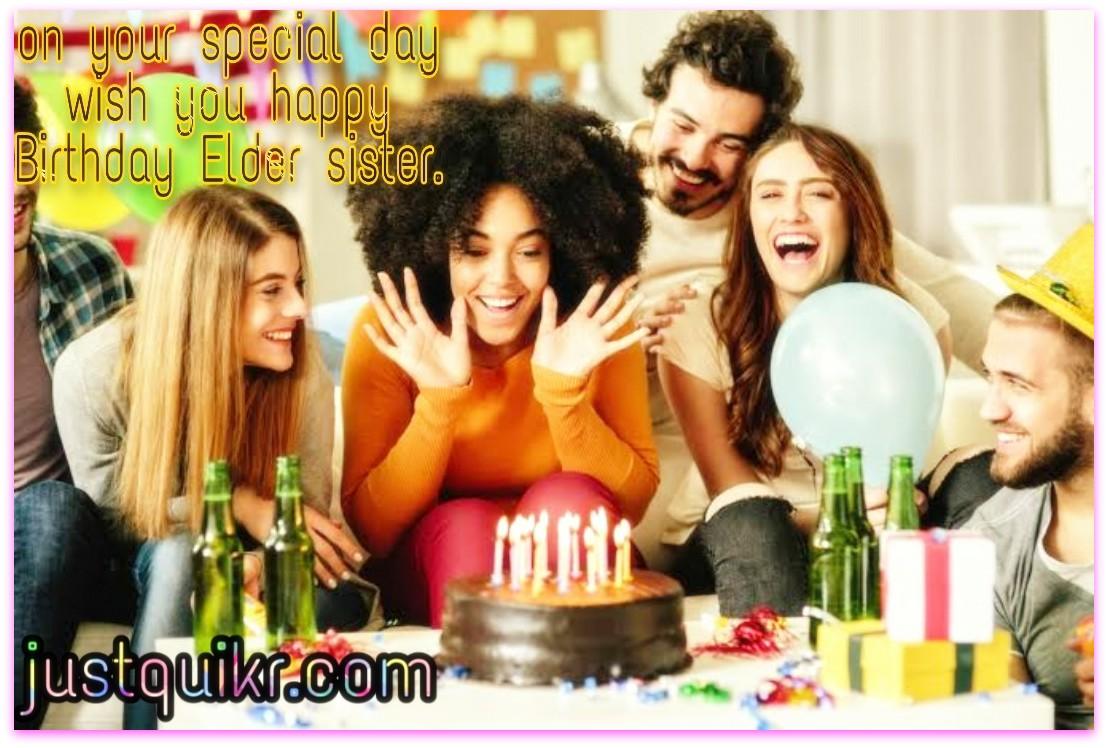 Bday Wishes for Elder Sister