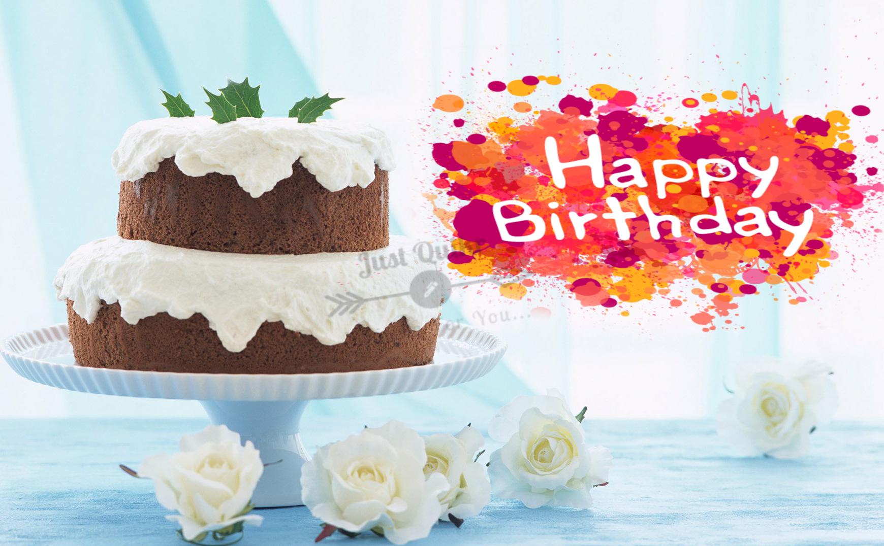 CreativeHappy Birthday Wishing Cake Status Images for Islamic Relatives