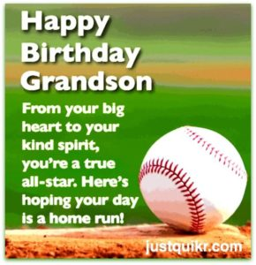 Creative Happy Birthday Wishes Thoughts Quotes Lines Messages in English for Grandson