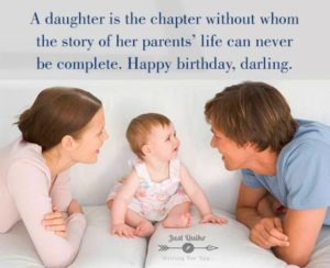Happy Birthday Shayari Greetings Sayings SMS and Images for Daughter From Dad