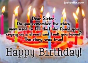 CreativeHappy Birthday Wishing Cake Status Images for Junior Sister