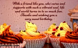 CreativeHappy Birthday Wishing Cake Status Images for Just Friend