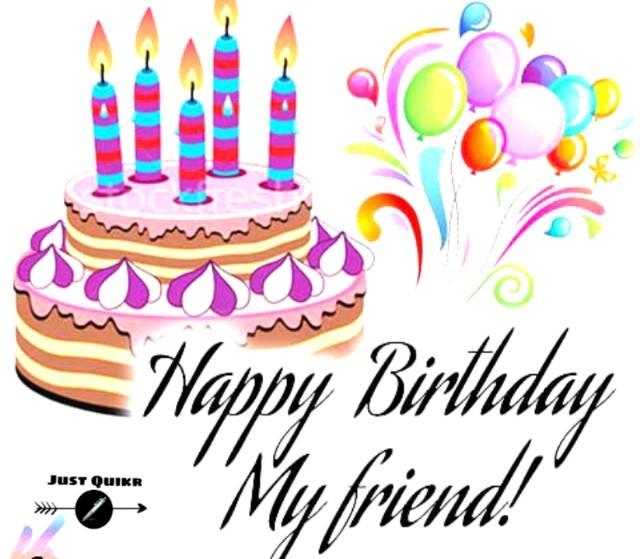 Creative Happy Birthday Wishing Cake Status Images for Kamina Dost