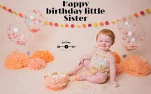 Happy Birthday Funny Wishes Memes and Images for Little Sister