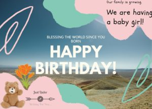 Happy Birthday Wishes & Messages for Girl Child