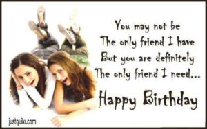 Happy Birthday Shayari Greetings Sayings SMS and Images for Good Friend