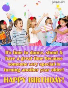 Birthday Greetings Sayings & SMS for Kid