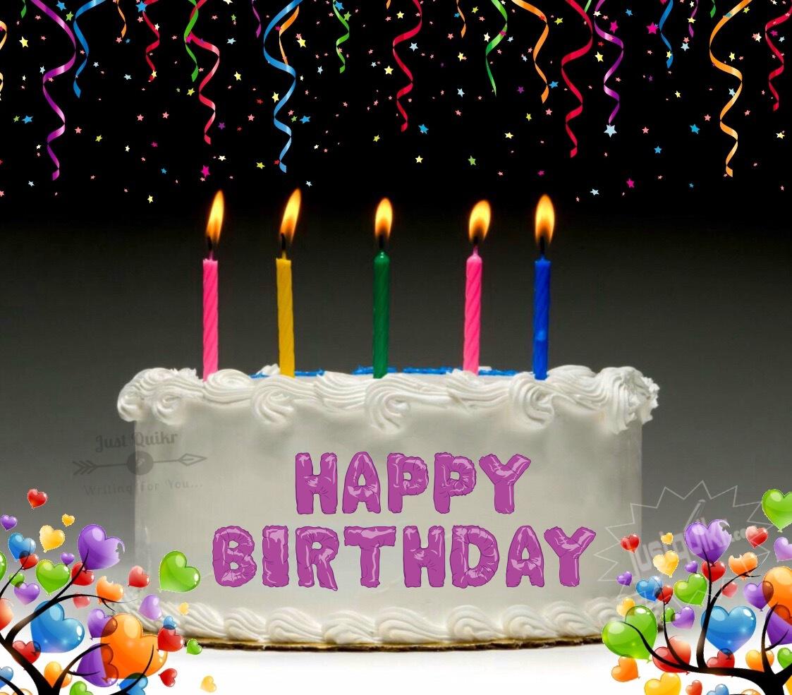 CreativeHappy Birthday Wishing Cake Status Images for Friend in Status