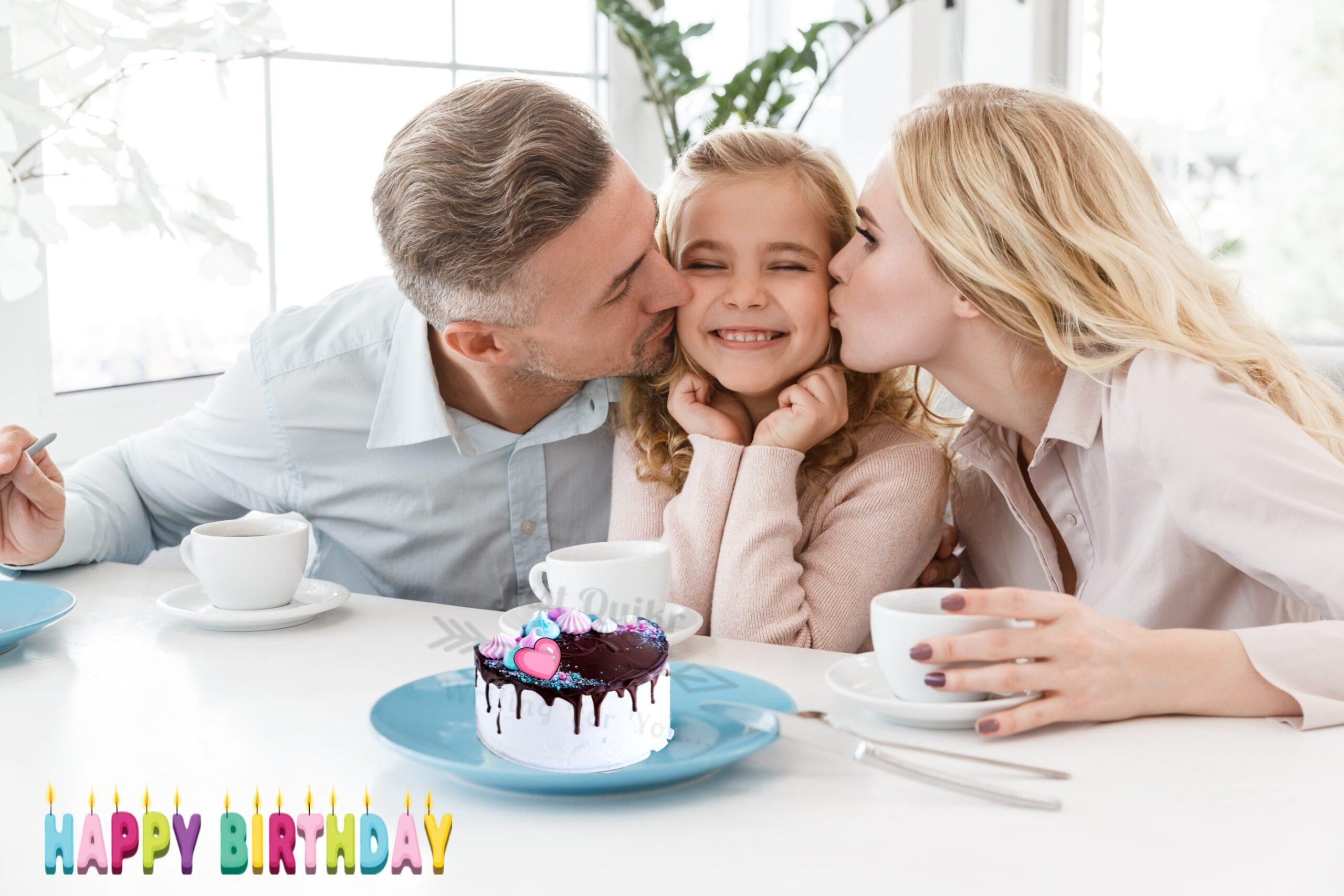 Creative Happy Birthday Wishing Cake Status Images for Girl Child