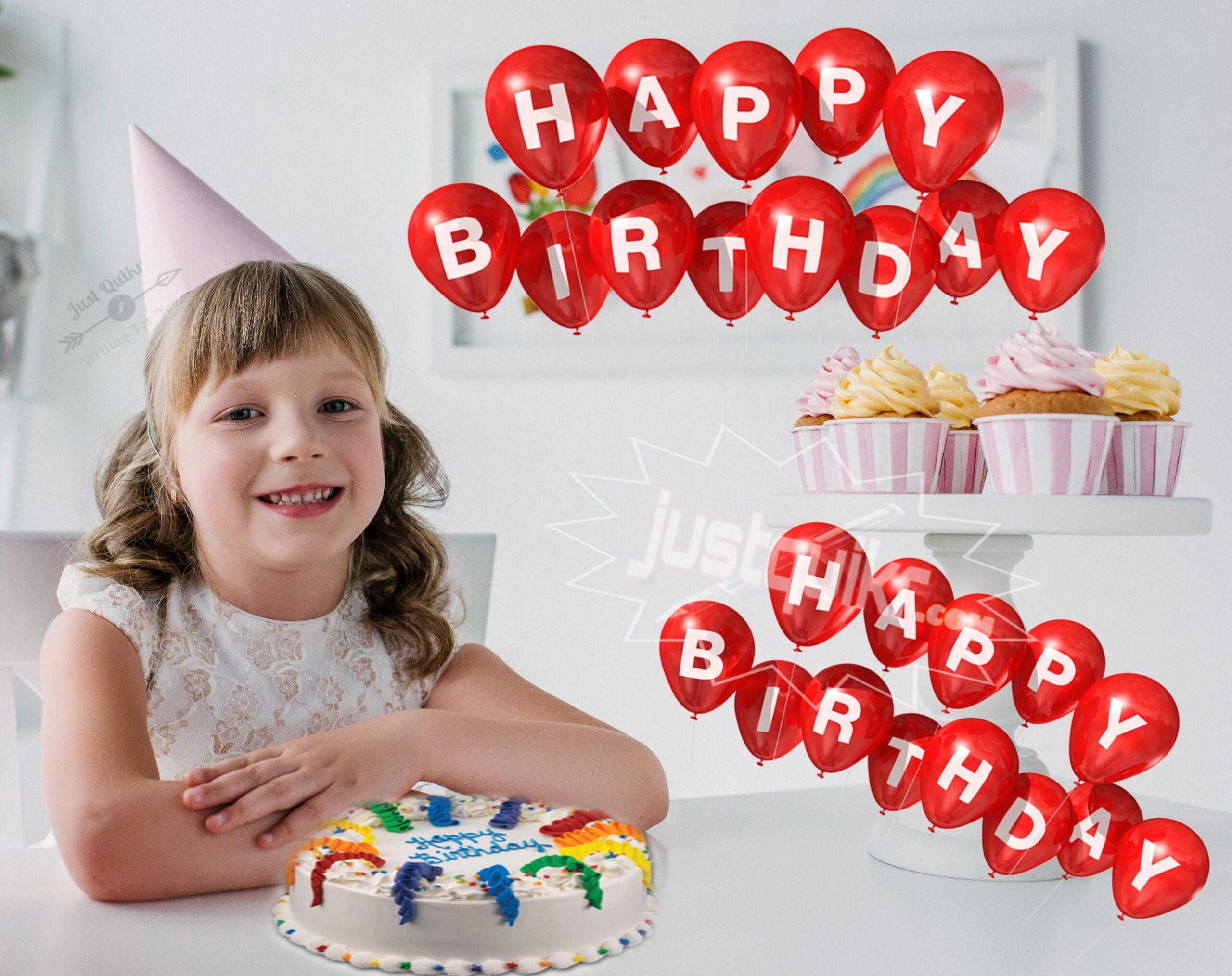 CreativeHappy Birthday Wishing Cake Status Images for Little Girl