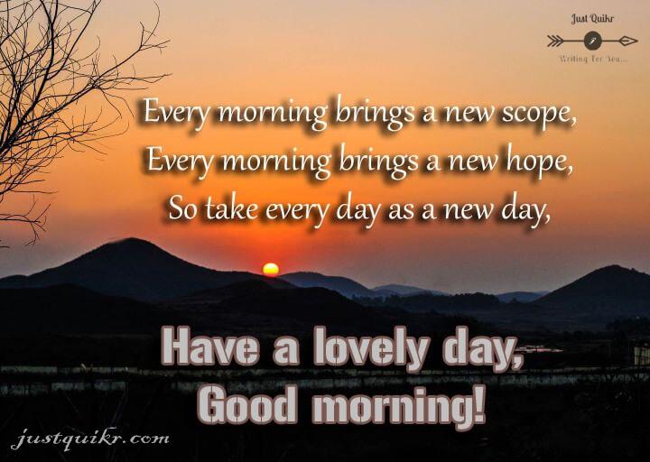 Good Morning English Thoughts HD Pics Images Photo Wallpaper