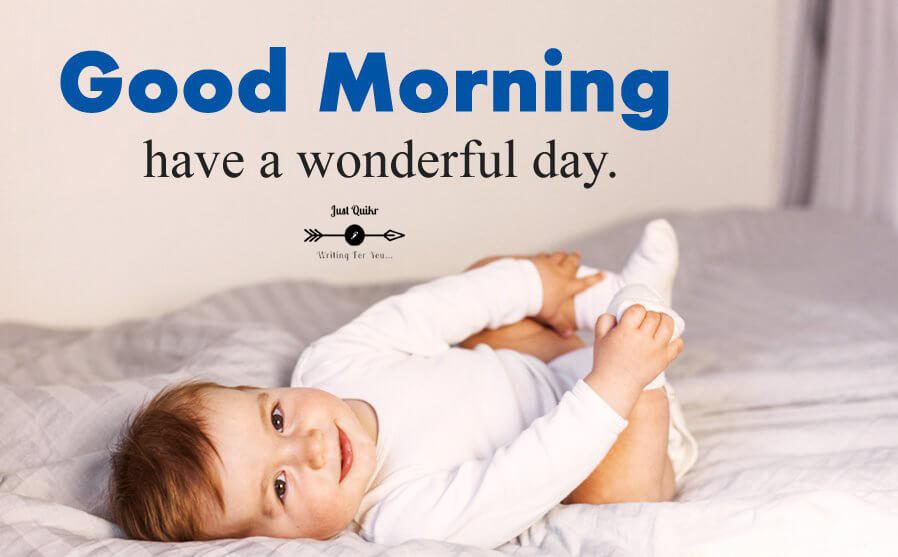 Good Morning Baby HD Pics Images Photo Wallpaper