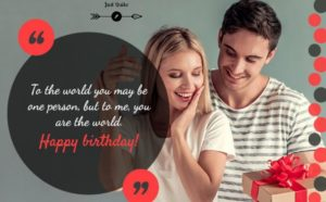 Birthday Greetings Sayings & SMS for Lover